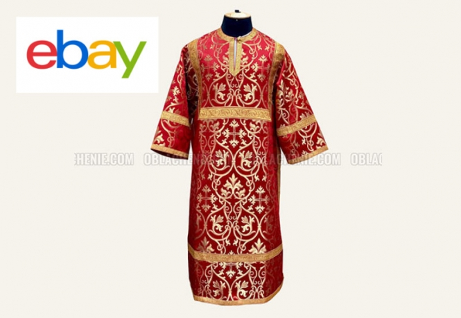 Buy orthodox vestments on Ebay