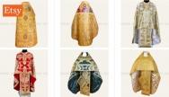 Buy orthodox vestments on Etsy
